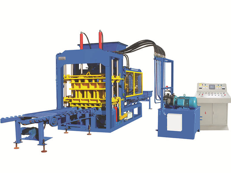 QT6-15B ash brick making machine