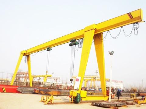 single girder overhead gantry crane for sale