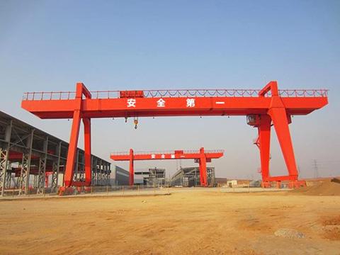 20 ton electric double girder gantry crane sales