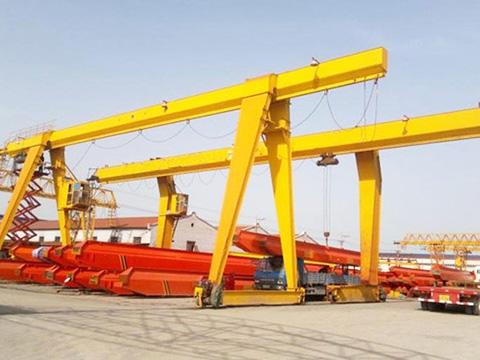 single girder electric gantry crane supplier