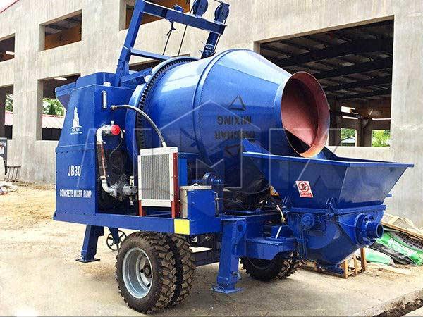 electric concrete pump