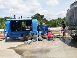 concrete pump small
