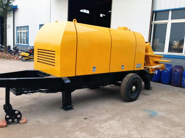 mini diesel concrete pump