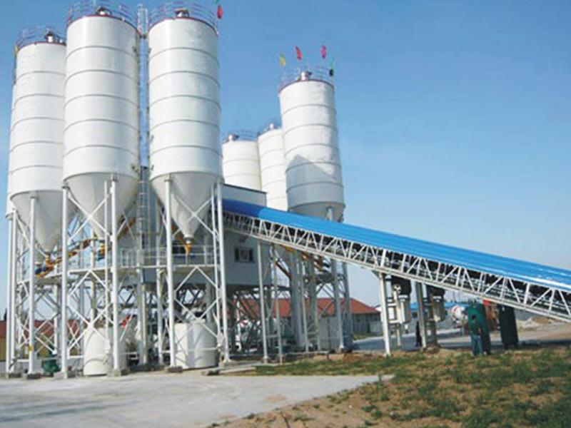 wet concrete plant