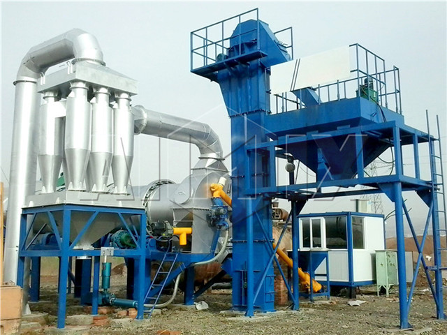Mobile asphalt plant china