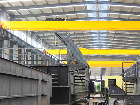double girder 20 ton bridge crane with hook for sale